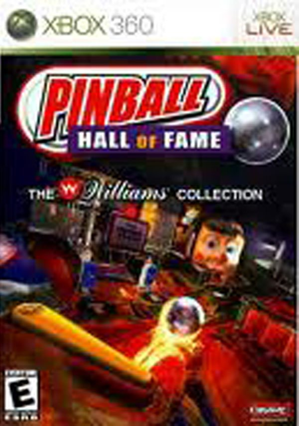 Pinball Hall Of Fame: The Williams Collection Video Game Back Title by WonderClub