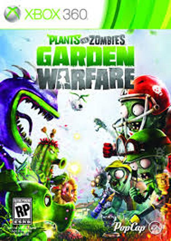 Plants Vs. Zombies: Garden Warfare Video Game Back Title by WonderClub