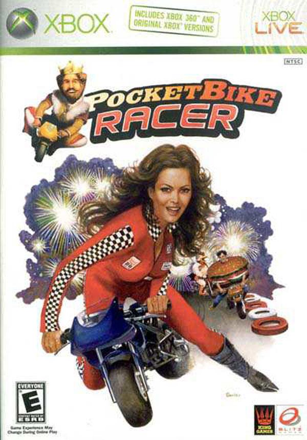 PocketBike Racer Video Game Back Title by WonderClub