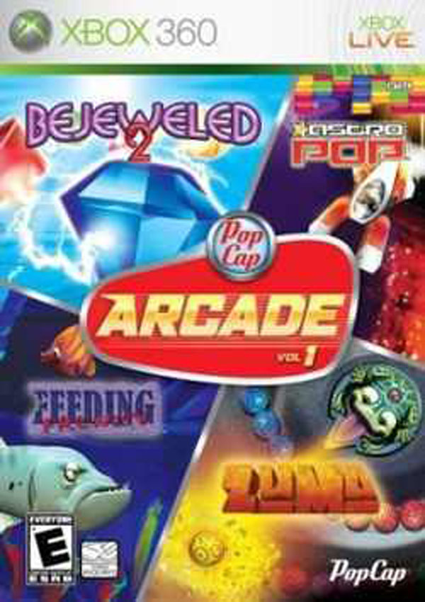PopCap Arcade Volume 2 Video Game Back Title by WonderClub
