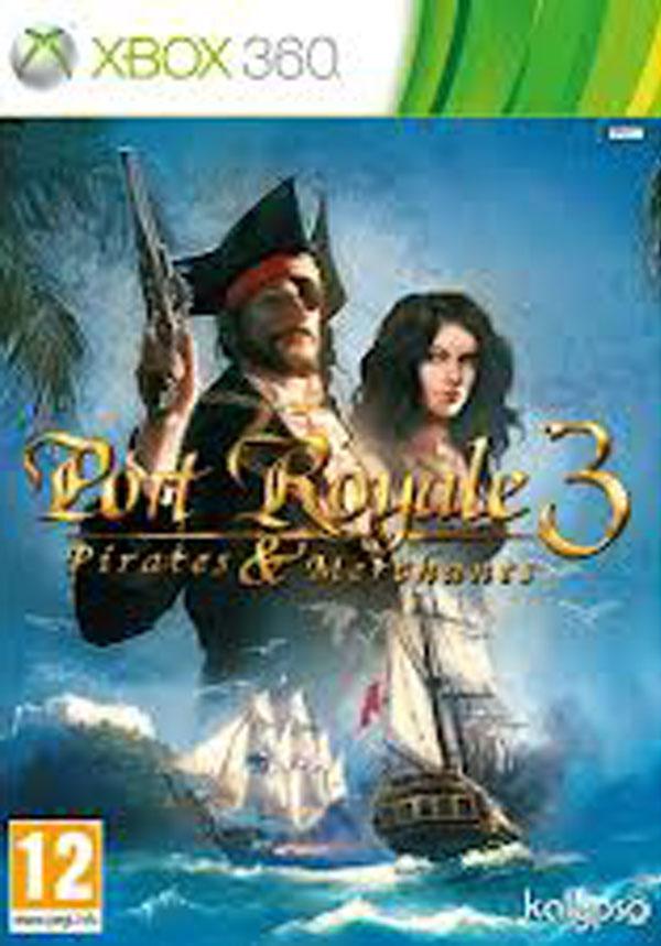 Port Royale 3: Pirates & Merchants Video Game Back Title by WonderClub