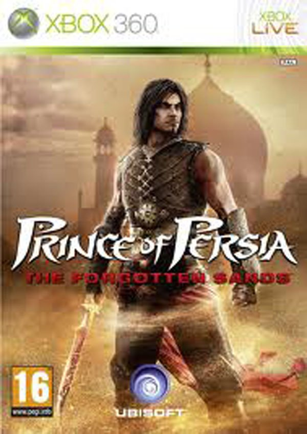Prince Of Persia: The Forgotten Sands Video Game Back Title by WonderClub