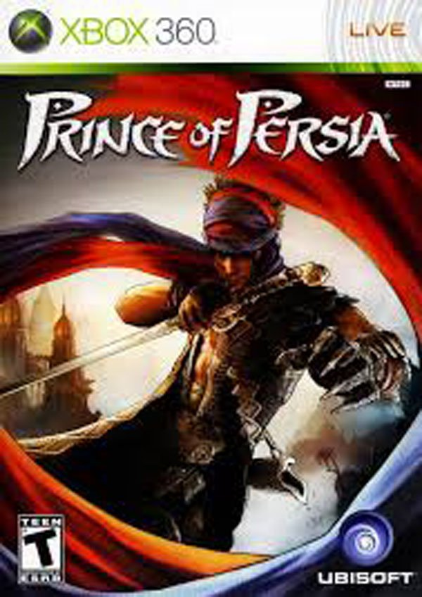 Prince Of Persia Video Game Back Title by WonderClub