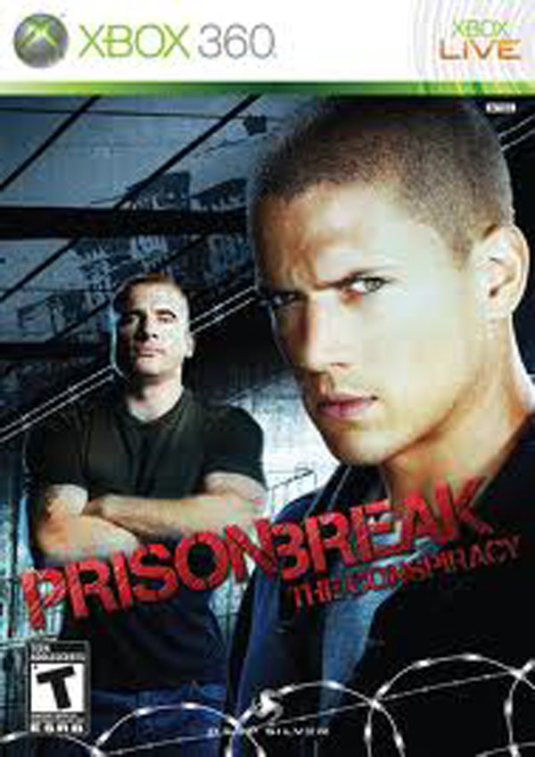 Prison Break: The Conspiracy Video Game Back Title by WonderClub