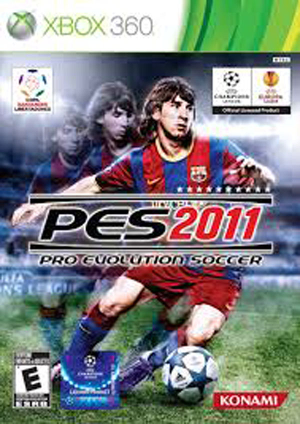 Pro Evolution Soccer 2011 Video Game Back Title by WonderClub