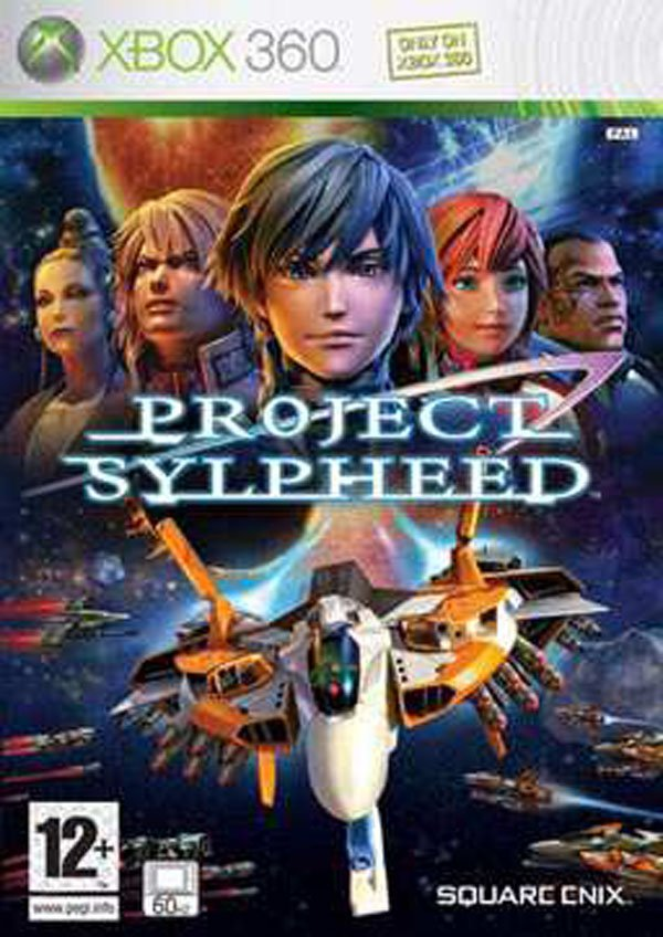 Project Sylpheed Video Game Back Title by WonderClub