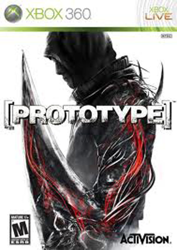 Prototype Video Game Back Title by WonderClub