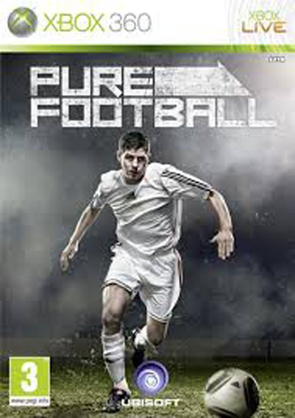 Pure Football Video Game Back Title by WonderClub