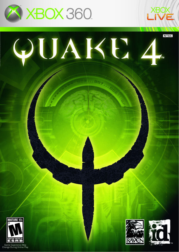 Quake 4 Video Game Back Title by WonderClub
