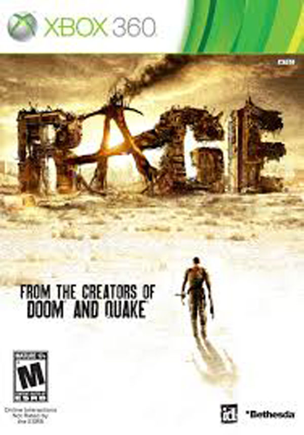 Rage Video Game Back Title by WonderClub