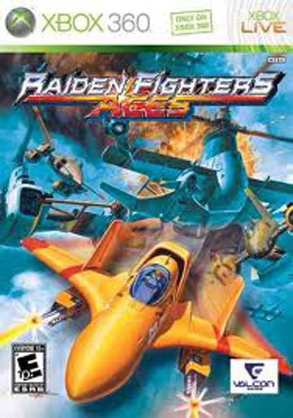 Raiden Fighters Aces Video Game Back Title by WonderClub