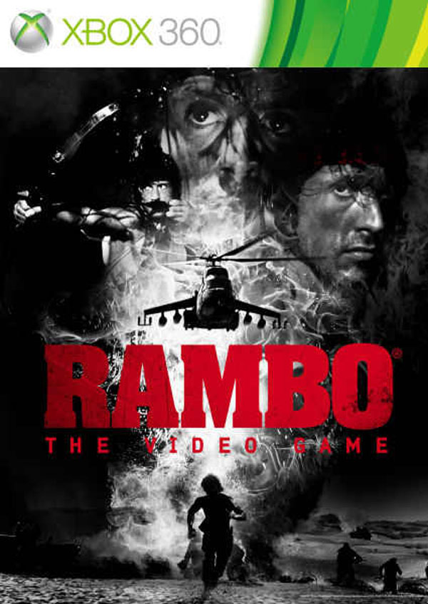 Rambo: The Video Game Video Game Back Title by WonderClub