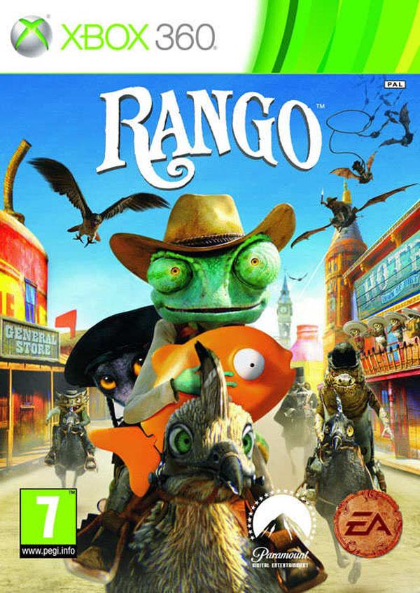 Rango Video Game Back Title by WonderClub