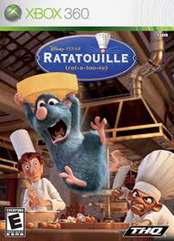 Ratatouille Video Game Back Title by WonderClub
