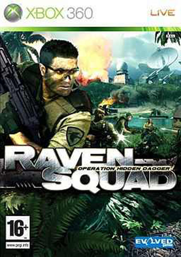 Raven Squad: Operation Hidden Dagger Video Game Back Title by WonderClub