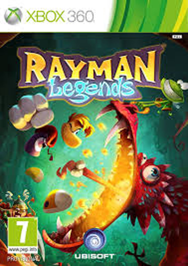 Rayman Legends Video Game Back Title by WonderClub