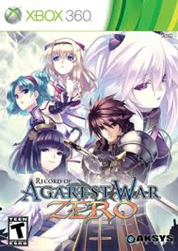 Record Of Agarest War Zero Video Game Back Title by WonderClub