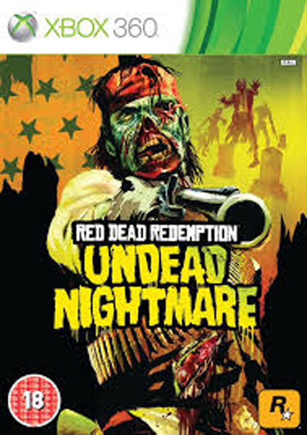 Red Dead Redemption: Undead Nightmare Video Game Back Title by WonderClub