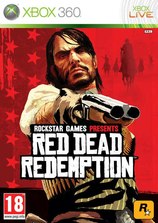 Red Dead Redemption Video Game Back Title by WonderClub