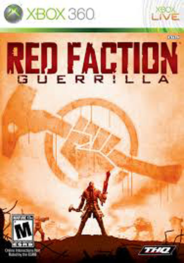 Red Faction: Guerrilla Video Game Back Title by WonderClub