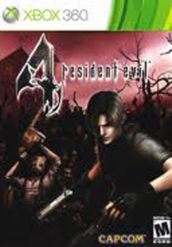 Resident Evil 4 Video Game Back Title by WonderClub
