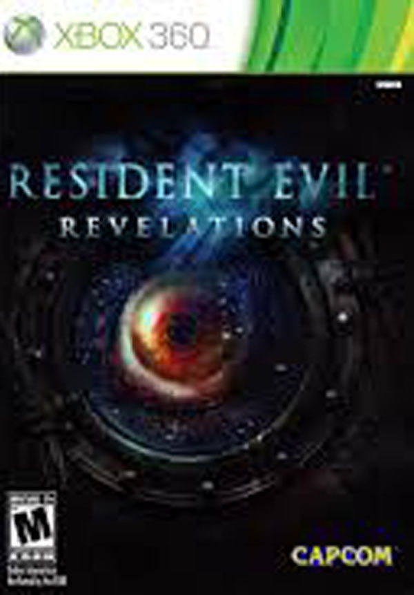 Resident Evil: Revelations Video Game Back Title by WonderClub