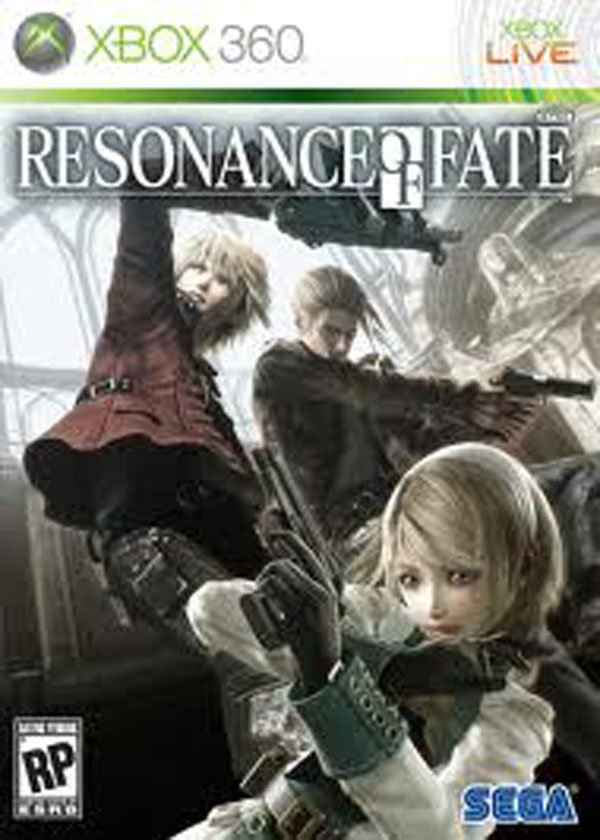Resonance Of Fate Video Game Back Title by WonderClub