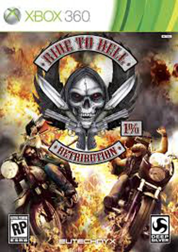 Ride To Hell: Retribution Video Game Back Title by WonderClub