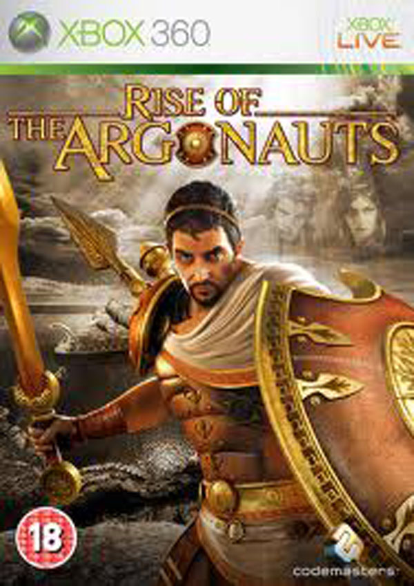 Rise Of The Argonauts Video Game Back Title by WonderClub