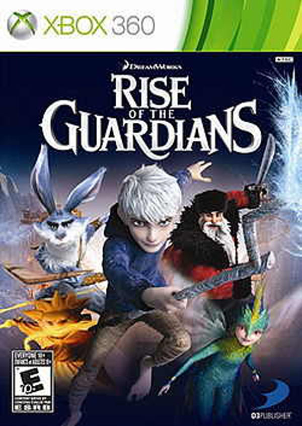 Rise Of The Guardians: The Video Game Video Game Back Title by WonderClub
