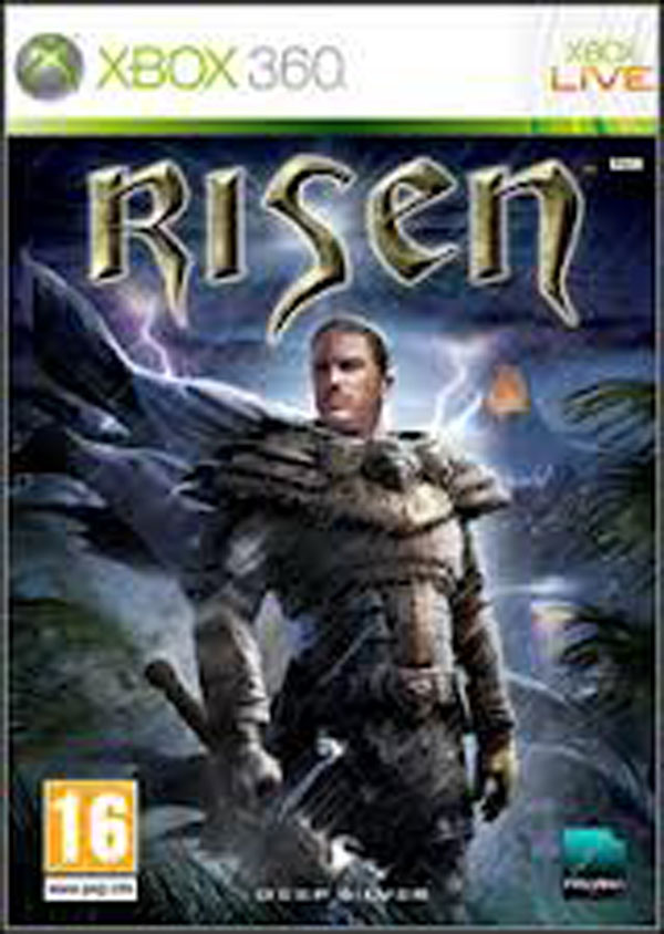 Risen (video Game) Video Game Back Title by WonderClub