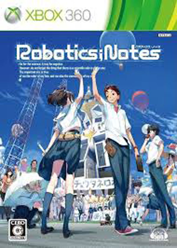 Robotics;Notes Video Game Back Title by WonderClub