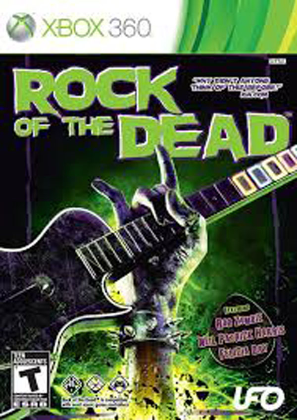 Rock Of The Dead Video Game Back Title by WonderClub