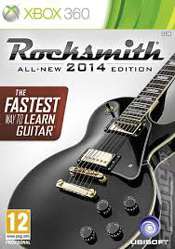 Rocksmith 2014 Video Game Back Title by WonderClub
