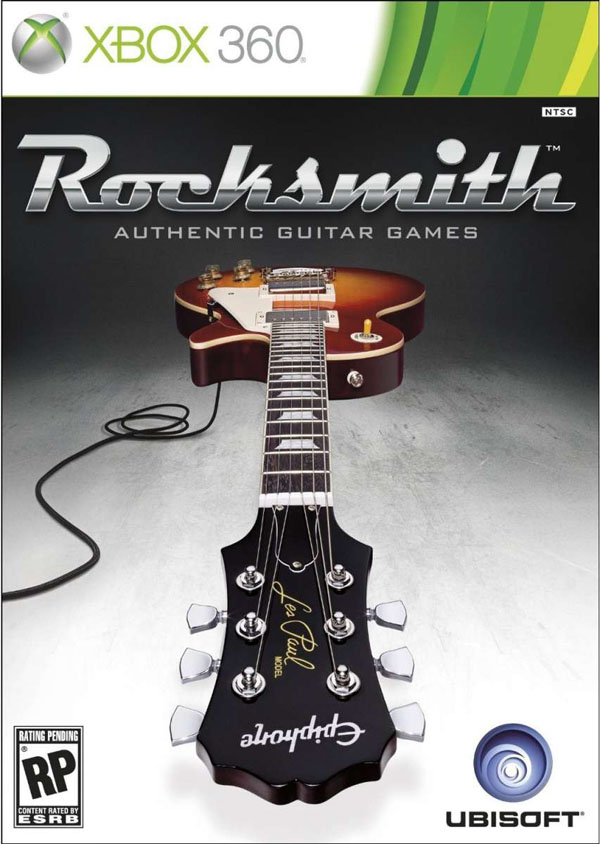 Rocksmith Video Game Back Title by WonderClub