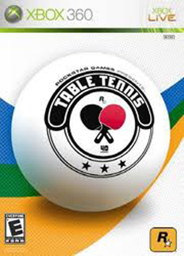 Rockstar Games Presents Table Tennis Video Game Back Title by WonderClub