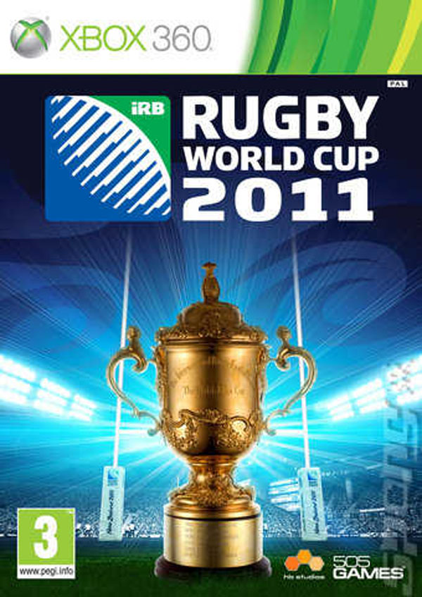 Rugby World Cup 2011 Video Game Back Title by WonderClub