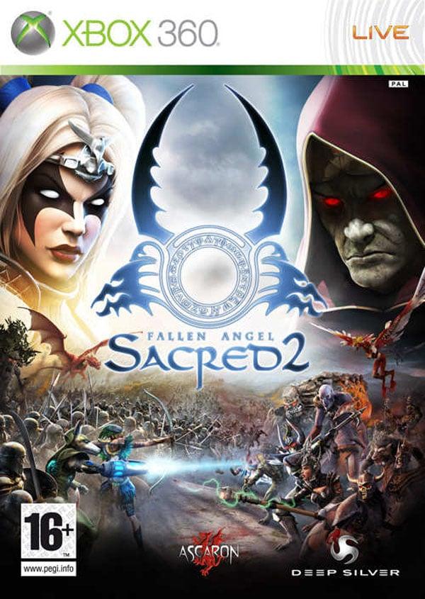 Sacred 2: Fallen Angel Video Game Back Title by WonderClub