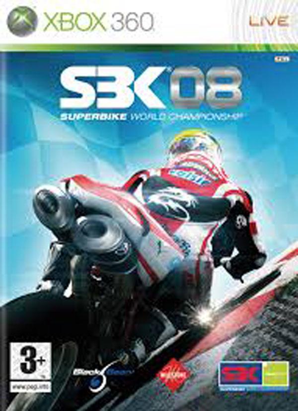 SBK-08: Superbike World Championship Video Game Back Title by WonderClub