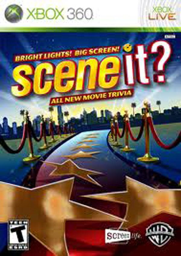 Scene It? Bright Lights! Big Screen! Video Game Back Title by WonderClub