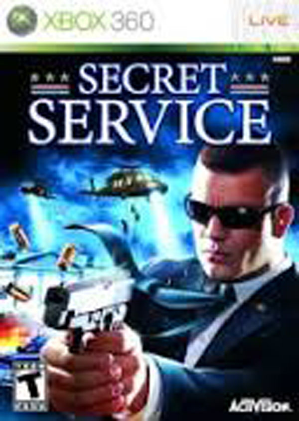 Secret Service Video Game Back Title by WonderClub