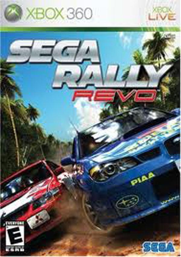 Sega Rally Revo Video Game Back Title by WonderClub