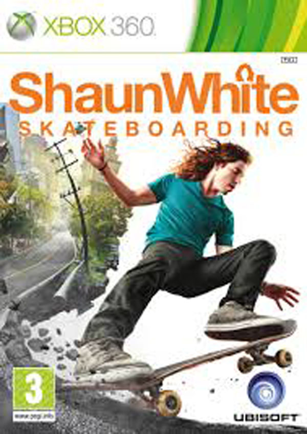 Shaun White Skateboarding Video Game Back Title by WonderClub