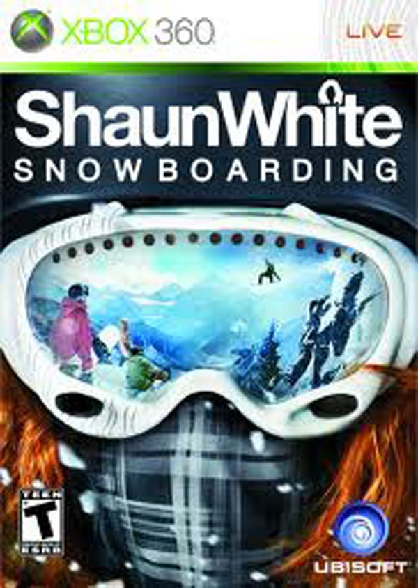Shaun White Snowboarding Video Game Back Title by WonderClub