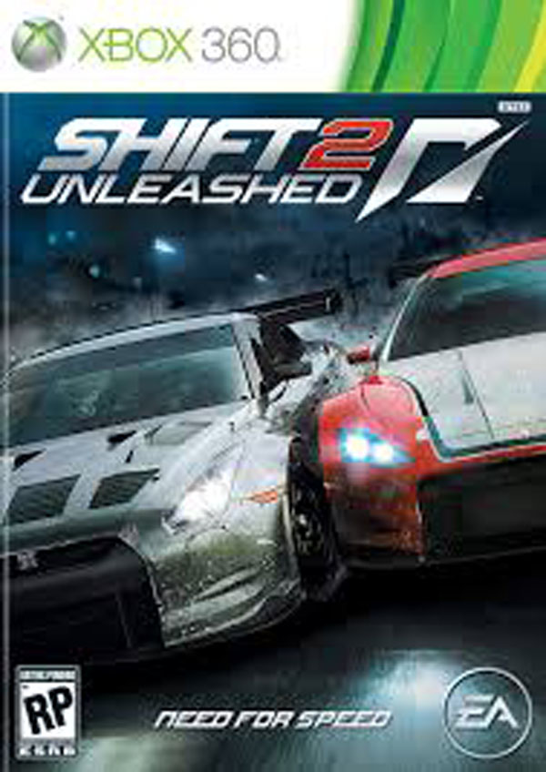 Shift 2: Unleashed Video Game Back Title by WonderClub