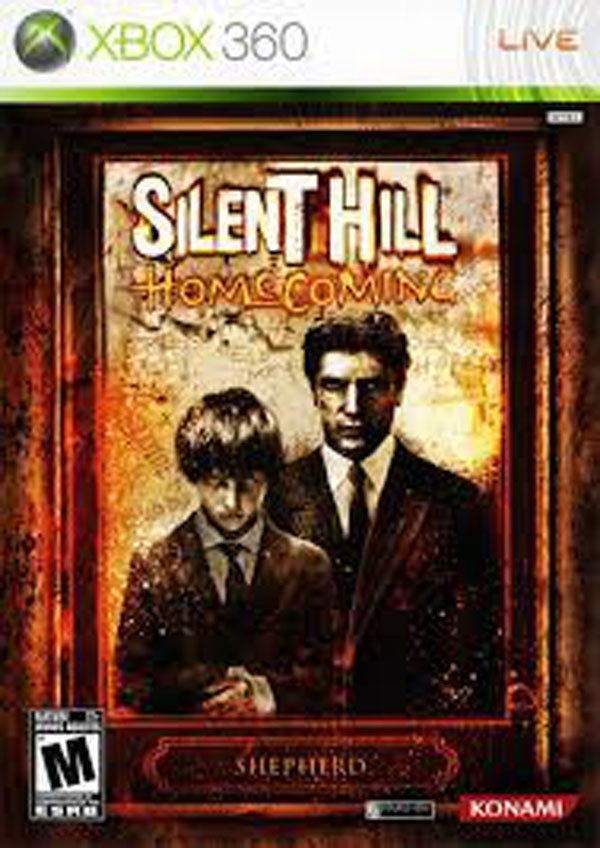 Silent Hill: Homecoming Video Game Back Title by WonderClub