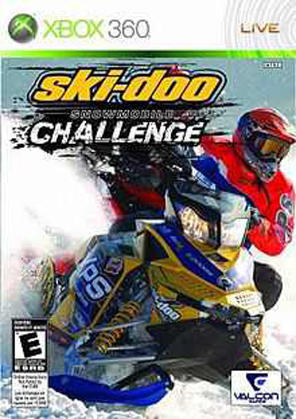 Ski-Doo: Snowmobile Challenge Video Game Back Title by WonderClub