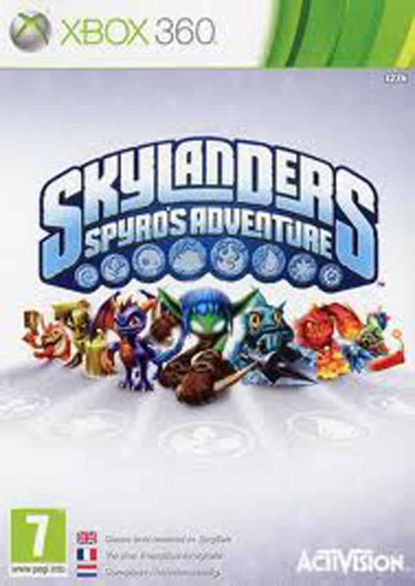 Skylanders: Spyro's Adventure Video Game Back Title by WonderClub