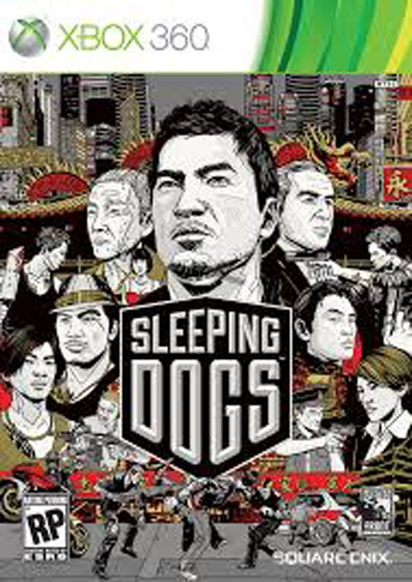 Sleeping Dogs Video Game Back Title by WonderClub