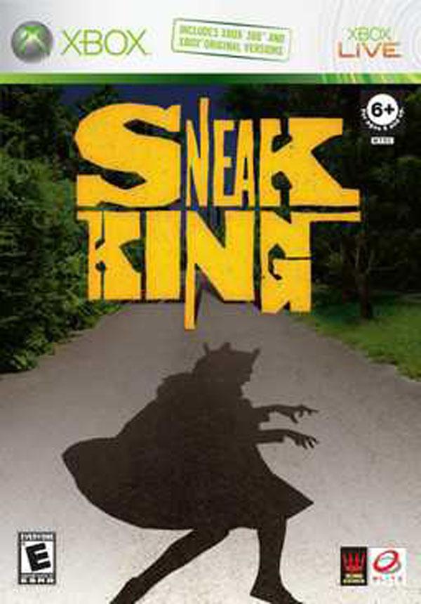 Sneak King Video Game Back Title by WonderClub